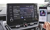 Toyota Corolla: Connectivity