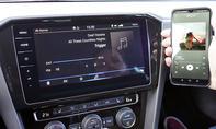 VW Passat Variant GTE: Connectivty