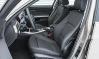BMW 320d mit optional erhältlichen Sportsitzen