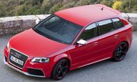 Bilder Audi RS 3 Sportback Kurven