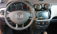 Dacia Lodgy dCi 110 eco - Cockpit