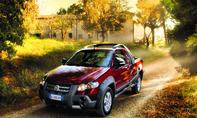 Fiat Strada Lumberjack 2012 Sondermodell Pick-Up-Truck