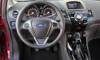 Ford Fiesta 1-0 EcoBoost 2013 Kleinwagen Cockpit