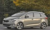 Kia Carens 2013 Preis neue Generation Kompakt-Van