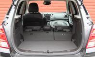 Bilder Chevrolet Trax 1.6 2013 Kompakt SUV Kofferraum