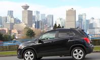 Bilder Chevrolet Trax 1.6 2013 Kompakt SUV Skyline Vancouver
