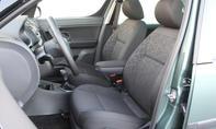 Vergleich SUV Van Skoda Yeti Roomster 1-2 TSI Innenraum