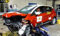 Renault Captur 2013 Euro NCAP Crashtest Dacia Sandero Chevrolet Trax Nissan NV200 Evalia