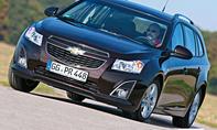 Chevrolet Cruze SW 1.4 T Kompakt-Kombi Benziner Test Bilder Verbrauch