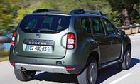 Bilder Dacia Duster TCe 125 4x2 2013 Fahrbericht Kurvenfahrt