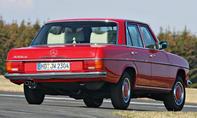 Mercedes 230.4 Bilder technische Daten Oldtimer Heck