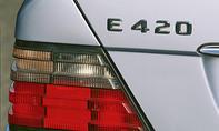 Mercedes E 420 Kaufberatung Bilder technische Daten Schriftzug