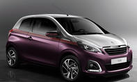 Peugeot 108 2014 Genfer Autosalon Kleinwagen