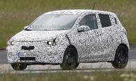 Opel Agila 2015 Erlkoenig Kleinwagen Minivan