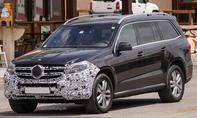 Erlkönig Mercedes GL Facelift 2015 SUV Geländewagen Motoren Multibeam