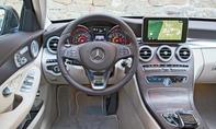 Mercedes C-Klasse Limousine T-Modell Kaufberatung Bilder technische Daten Cockpit