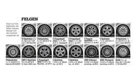 Mercedes C-Klasse Limousine T-Modell Kaufberatung Bilder technische Daten Felgen