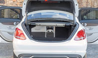 Mercedes C-Klasse Limousine T-Modell Kaufberatung Bilder technische Daten Kofferraum