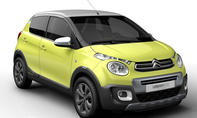 Concept Citroen C1 Urban Ride 2014 Paris Automesse SUV City Car 0002