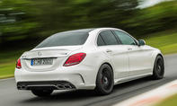 Mercedes C 63 AMG 2014 Paris V8 Power Limousine W205 Kombi S205