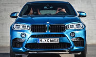 2015 BMW X6 M 2014 LA Auto Show Power SUV Coupe 575 PS