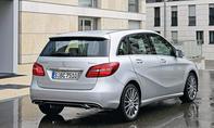 Mercedes B 200 CDI 4Matic 2014 Facelift Test Fahrbericht