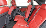 Mercedes B 200 CDI 4Matic 2014 Facelift Test Fahrbericht Rückbank Sitze