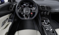 Audi R8 2015 V10 plus Autosalon Genf Live-Bilder Informationen Supersportler