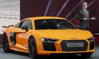 Audi R8 2015 V10 plus Autosalon Genf Supersportler Live-Bilder Informationen Premiere Neuheiten