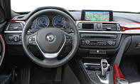 BMW Alpina B3 Biturbo Vergleich Test Sportkombi Cockpit