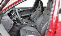 Audi RS4 Avant Vergleich Test Sportkombi Innenraum