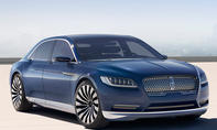 2016 Lincoln Continental 2015 New York Auto Show Luxusklasse Limousine Luxus
