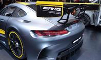 Mercedes-AMG GT3 Genfer Autosalon 2015 Rennversion Bilder Live