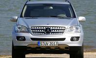 mercedes m-klasse ml w164 suv geländewagen front