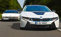 Vergleich BMW i8 M1 Supersportler Hybrid Sportwagen