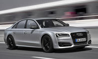 Top-12 der stärksten Luxuslimousinen: Audi S8 plus