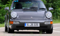 porsche 911 carrera 2 964 vergleichstest classic cars fahraufnahme