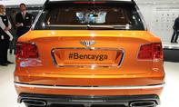 bentley bentayga 2015 iaa livebilder vorstellung neuheit luxus suv
