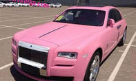 Rolls Royce Ghost in Pink