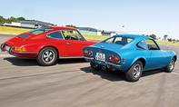 Melkus RS 1000 BMW 1600 GT Opel GT 1900 Porsche 911 T