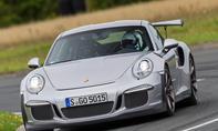 Porsche 911 silber Frontansicht