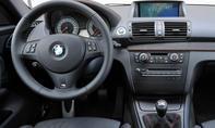 BMW 1er M Coupé Innenraum
