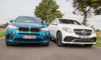 bmw x6 m Mercedes-amg gle 63 s coupe