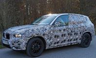 BMW X3 2017 Erlkönig