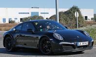 Porsche 911 2018 Erlkönig-Mule