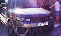 Range Rover Sport von Cristiano Ronaldo