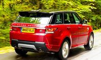 Range Rover Sport Vergleichstest