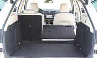 Großvolumiger Kofferraum