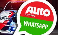 AUTOZEITUNG.de per Whatsapp auf dein Handy!