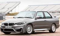 BMW M3 E30 mit der Front des BMW M4 F82